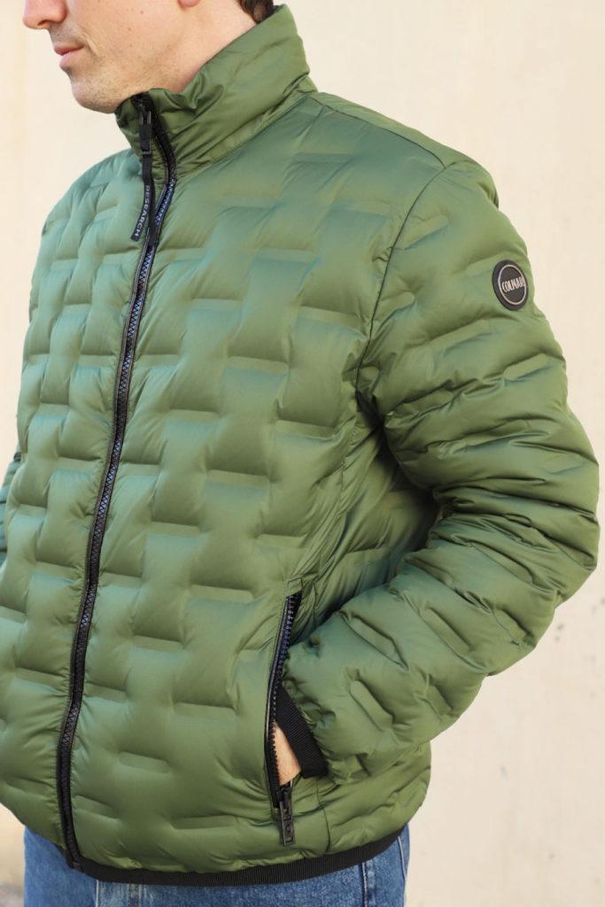 chaqueta plumas italiana Colmar