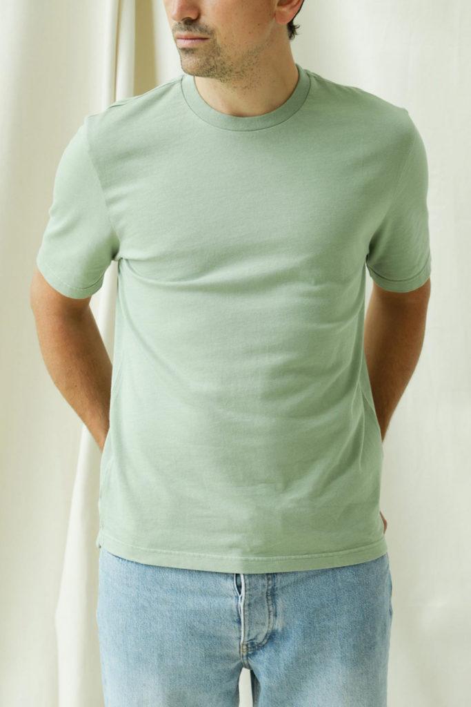 camiseta basica color te de unfeigned